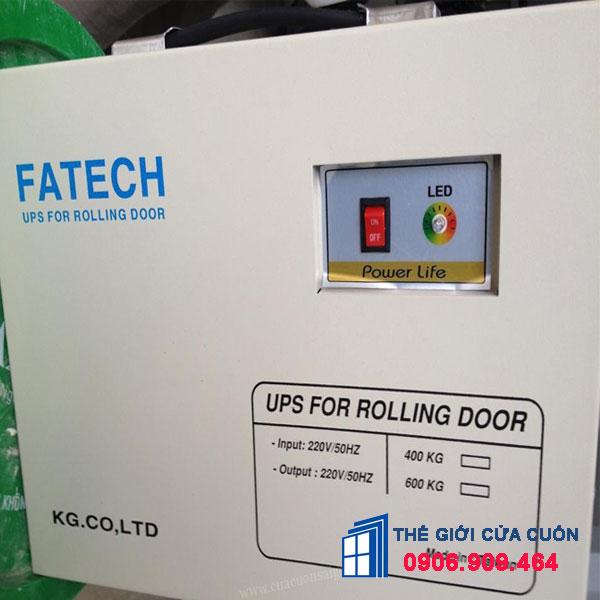 Bình lưu điện Fatech 400Kg