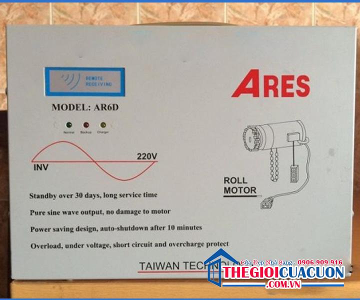 Bình Lưu Điện Cửa Cuốn ARES