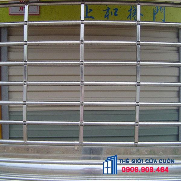 Cửa Cuốn Song Ngang - Báo Giá Cửa Cuốn Song Ngang Inox, Sơn Tĩnh Điện